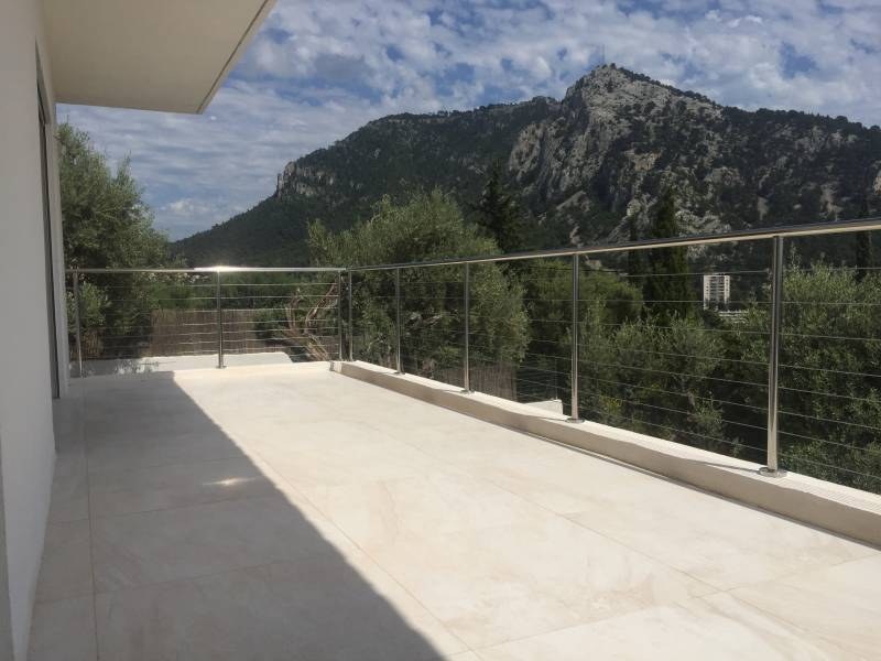 Fabrication et pose d'une balustrade inox a Toulon